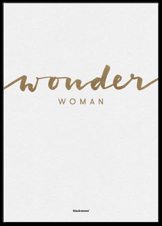 Druck A4 Wonder Woman goldfarben – Bild 2