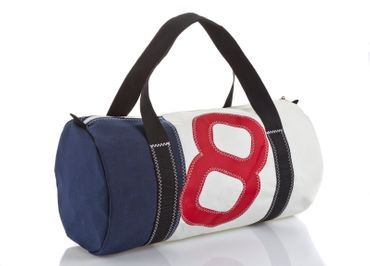Sailbags Tasche Onshore-Dacron Hit Blue Navy No. 8 red