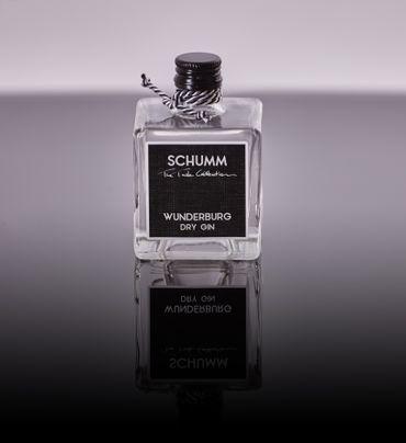 Schumm Wunderburg Dry Gin Trocken 50ml – Bild 1