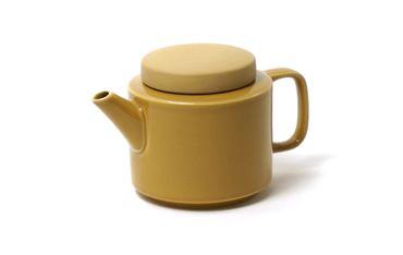 Kinta Teekanne senffarben, glänzend, matt 500ml – Bild 1