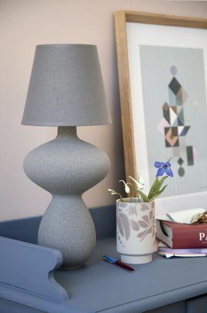 Balustre Lampe marmorgrau  – Bild 1