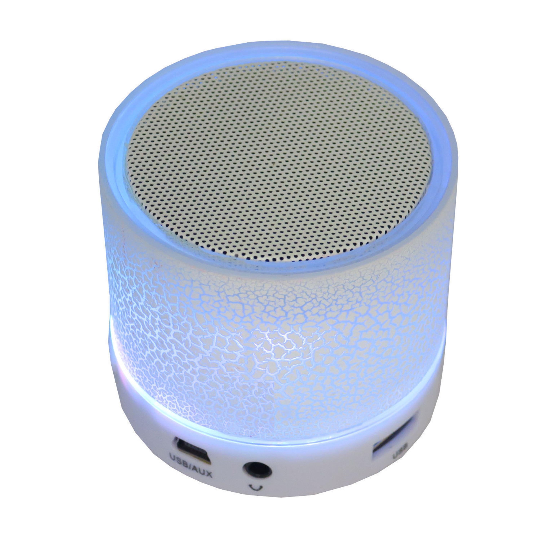 led bluetooth lautsprecher speaker sound box micro sd mp3. Black Bedroom Furniture Sets. Home Design Ideas