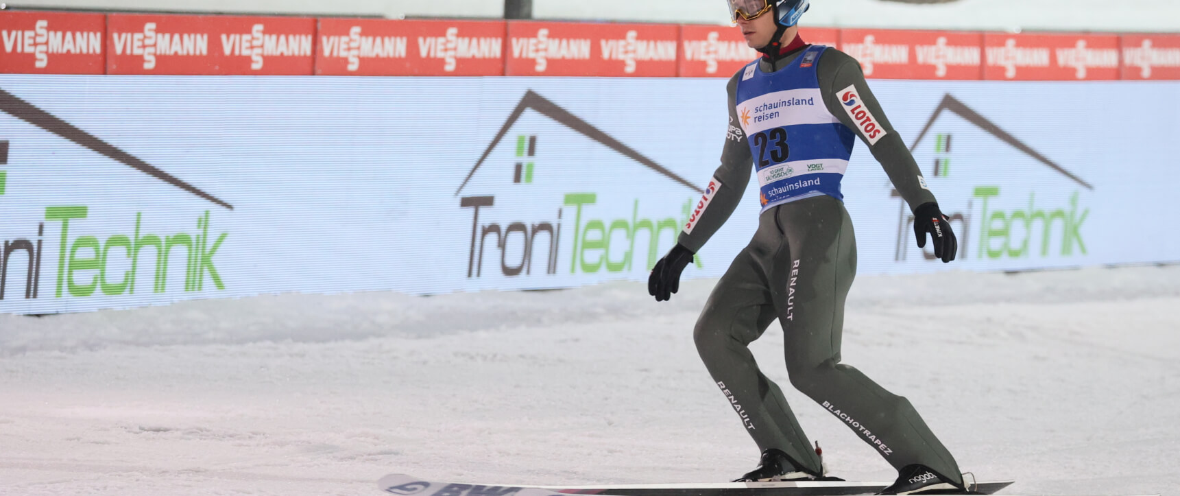 Eurosport Skispringen Weltcup TroniTechnik