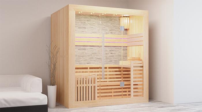 Startseite - Traditionelle Sauna
