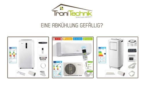 Mobile Klimaanlagen & Split-Klimageräte