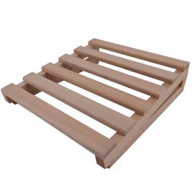 TroniTechnik Holz Sauna Kopfstütze Kopfkeil Nackenstütze Holzkissen Saunakissen – Bild 1