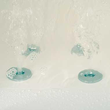 TroniTechnik Whirlpool Badewanne BUDELLI Rechts 160x80cm mit Bluetooth und Wasserfall   – Bild 5