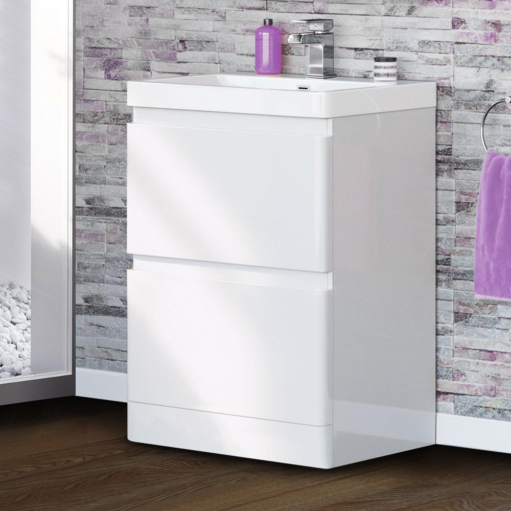 Waschbecken Badmöbel Badezimmermöbel Badezimmer Waschtisch Schrank  Waschbeckenschrank