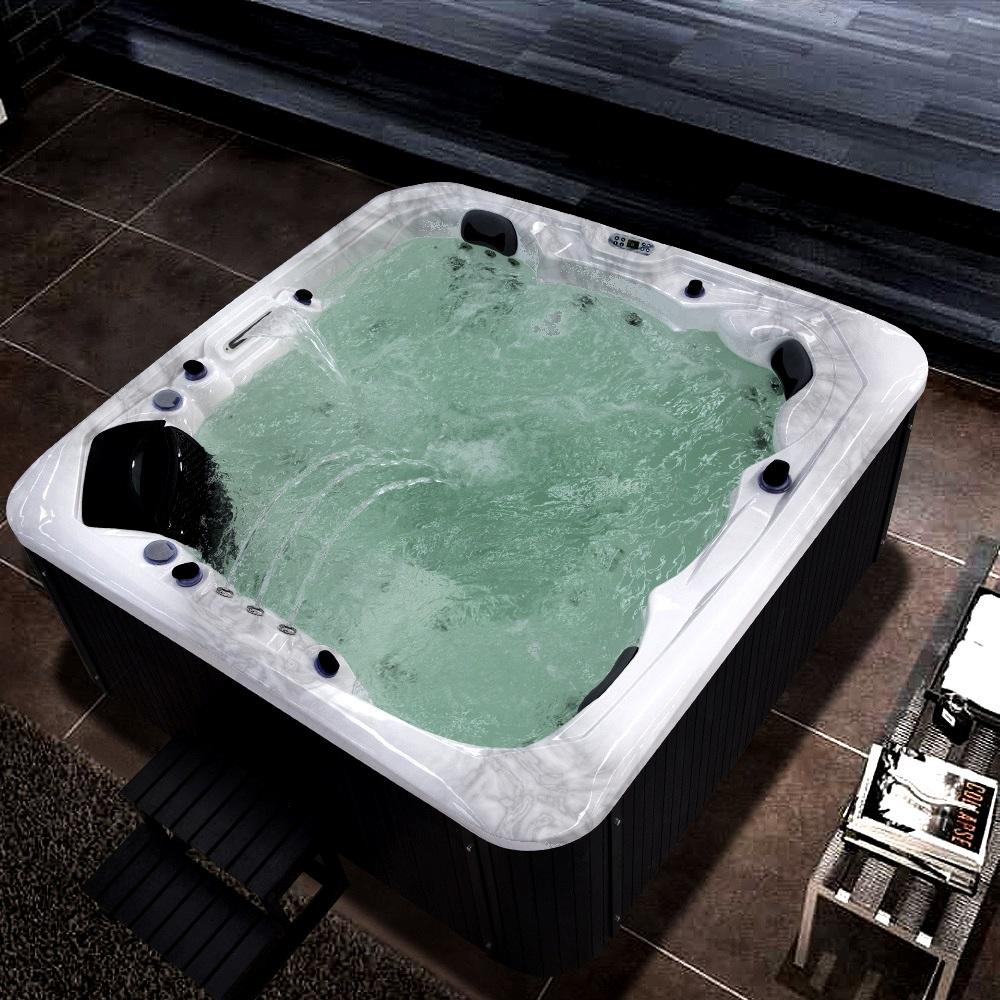 Outdoor whirlpool spa cretaccio grau 223cm x 223cm - Outdoor whirlpool ...