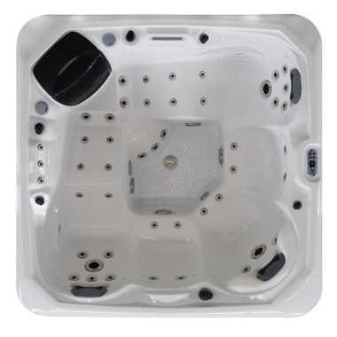 Outdoor Whirlpool CRETACCIO weiß 200x200 – Bild 13