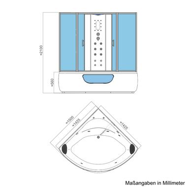 Dampfdusche Whirlpool CHIOS 150x150 – Bild 9