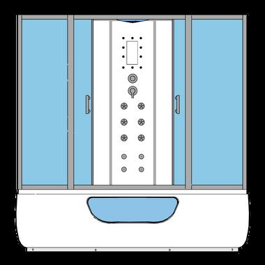 Dampfdusche Whirlpool CHIOS 150x150 – Bild 8