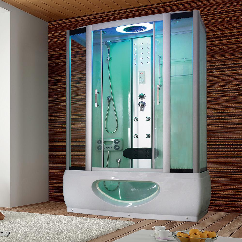 tronitechnik komplettdusche duschtempel badewanne wanne duschkabine dusche tinos 135x80 duschen. Black Bedroom Furniture Sets. Home Design Ideas