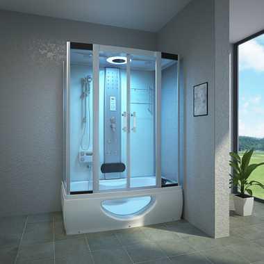 Duschbadewannen mit Whirlpool günstig kaufen | TroniTechnik