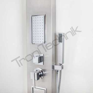 "TroniTechnik shower panel "" Turin "" stainless steel – Bild 2"