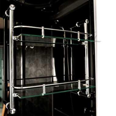 TroniTechnik Dampfdusche Fertigdusche Dampfsauna Whirlpool Badewanne Komplettdusche Duschkabine Dusche 150x150 – Bild 4