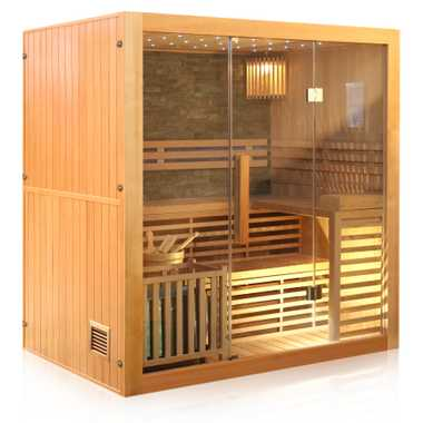 Traditional sauna SARNIA PLUS 180x140 – Bild 3