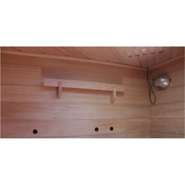 Infrarotkabine LAKEFIELD 140x140 Dual-Therm – Bild 8