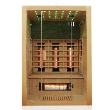 Infrared sauna MILTON 135x105 FULL SPECTRUM – Bild 4