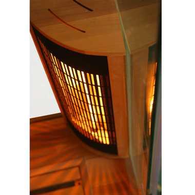 Infrarotkabine Pretoria Zedernholz 130x100 – Bild 9