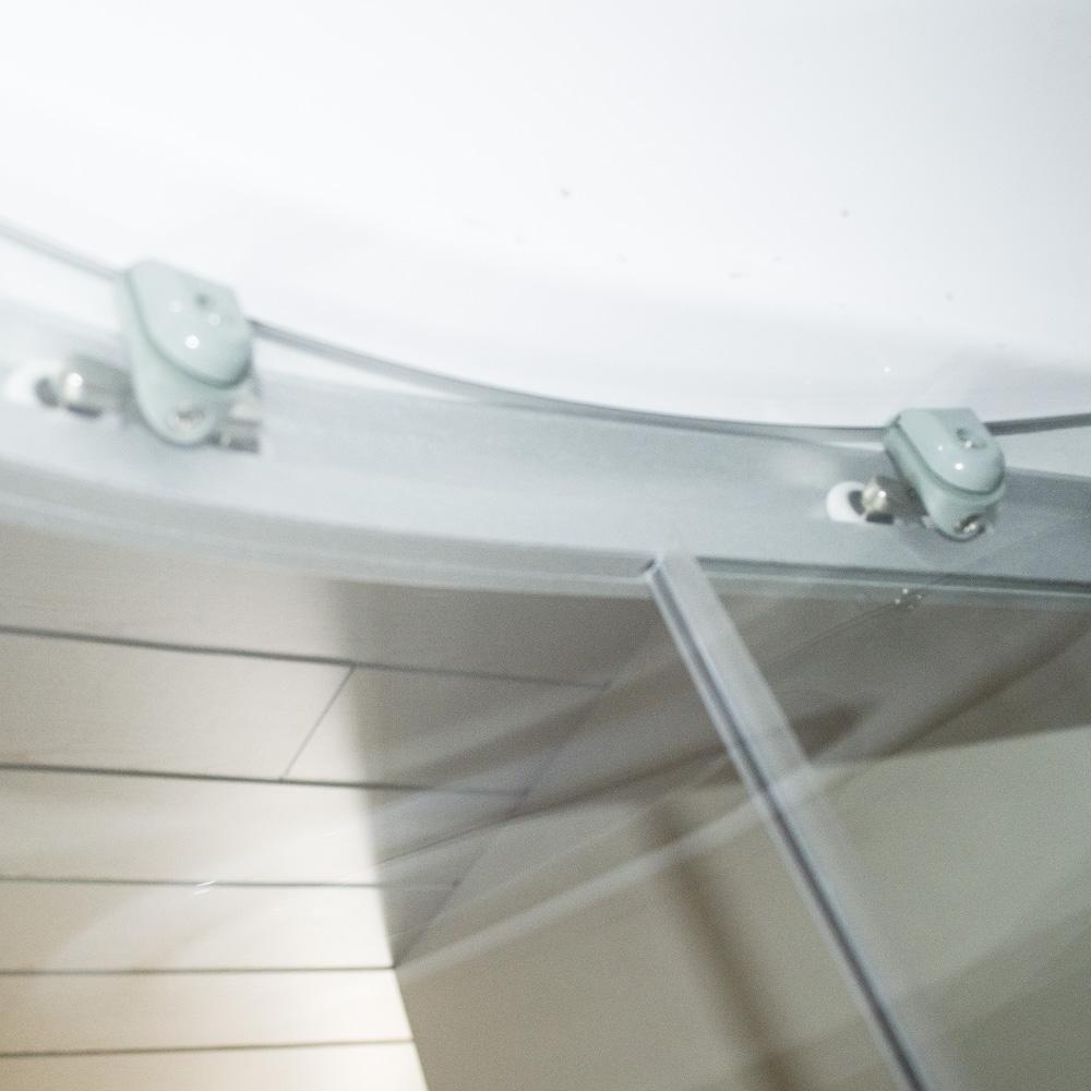 Bild 8: TroniTechnik Duschtempel Fertigdusche Duschkabine Dusche Glasdusche Eckdusche Komplettdusche S100XD2KG01 100x100