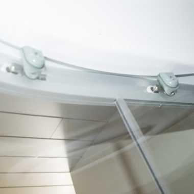 TroniTechnik Duschtempel Fertigdusche Duschkabine Dusche Glasdusche Eckdusche Komplettdusche S100XF2KG01 100x100  – Bild 9