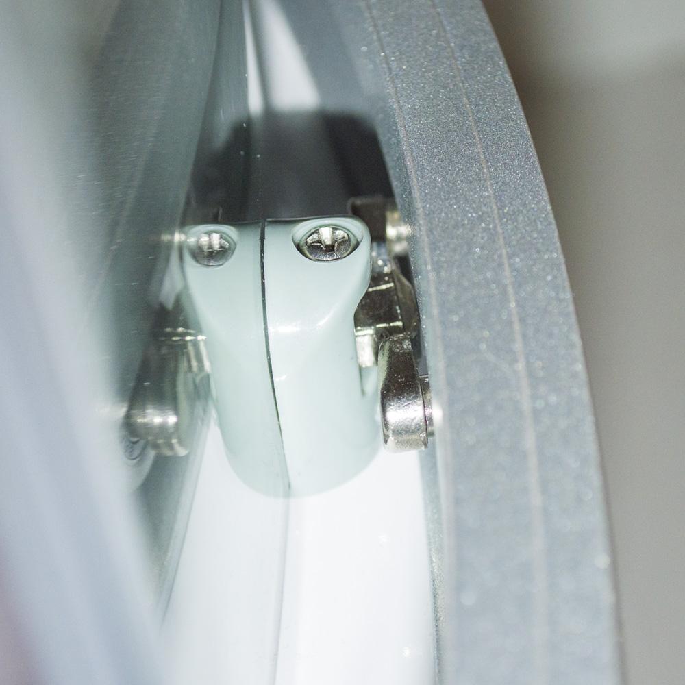 Bild 9: TroniTechnik Duschtempel Fertigdusche Duschkabine Dusche Glasdusche Eckdusche Komplettdusche S090XH2KG01 90x90