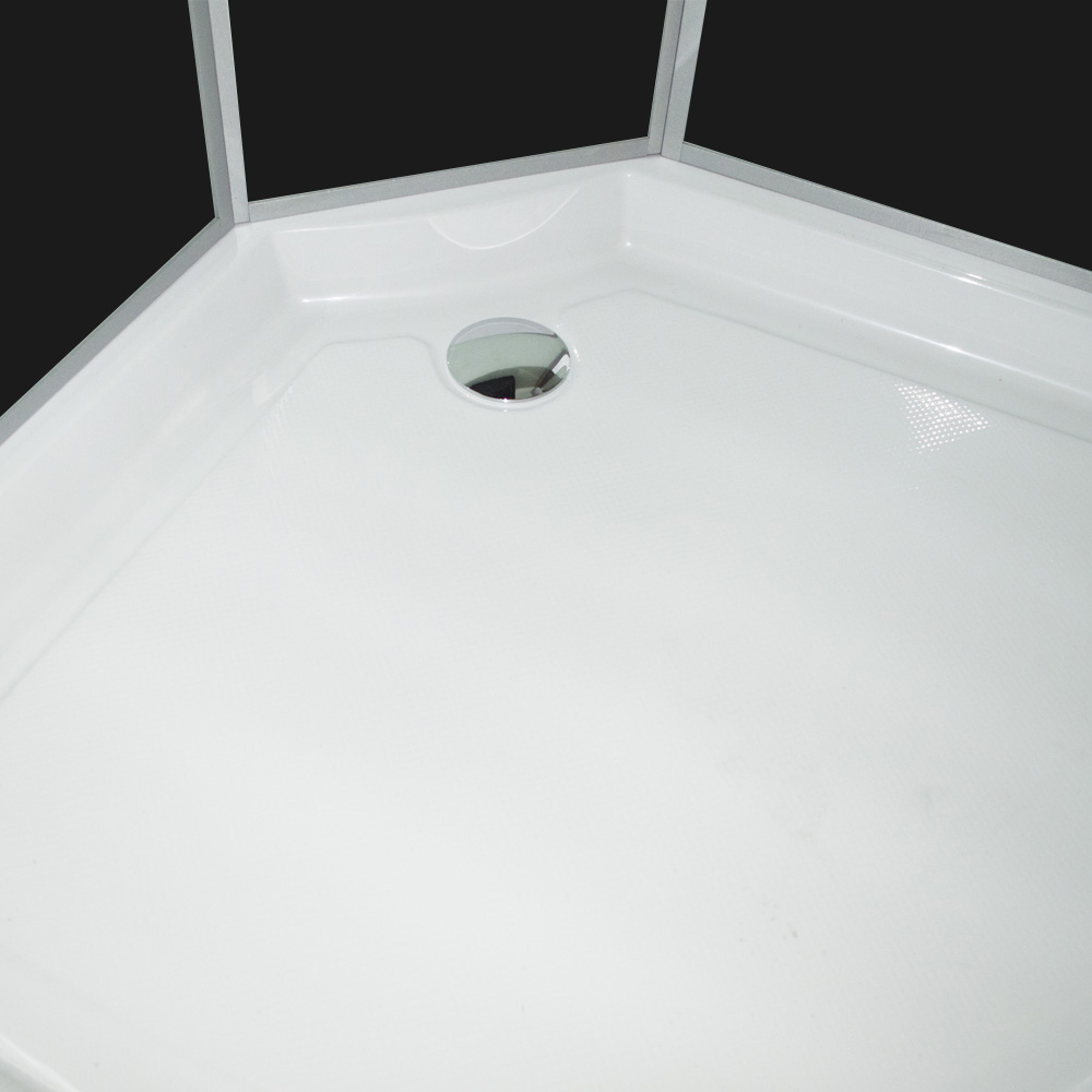 Bild 7: TroniTechnik Duschtempel Fertigdusche Duschkabine Dusche Glasdusche Eckdusche Komplettdusche S090XD1HG01 90x90