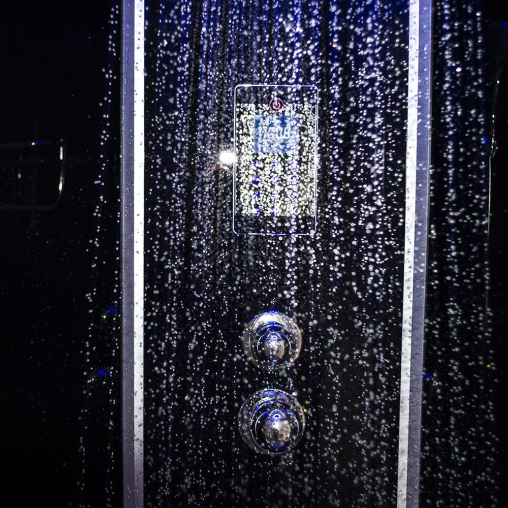 Bild 6: TroniTechnik Duschtempel Fertigdusche Duschkabine Dusche Glasdusche Eckdusche Komplettdusche S100XD1HG01 100x100
