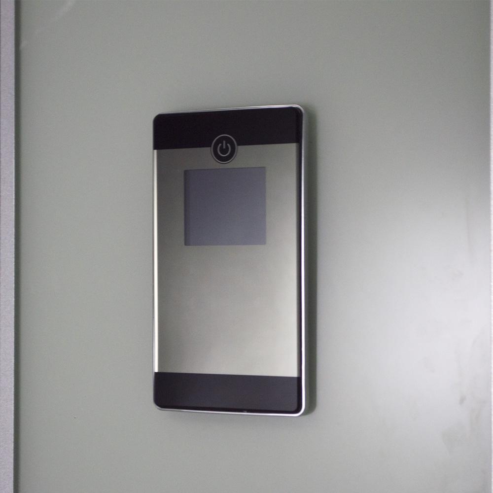 Bild 5: TroniTechnik Duschtempel Fertigdusche Duschkabine Dusche Glasdusche Eckdusche Komplettdusche S100XD2HG01 100x100