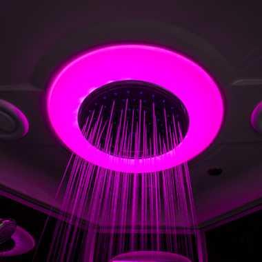 TroniTechnik Duschtempel Duschkabine Dusche Glasdusche Eckdusche Komplettdusche S100XH1HG01 100x100 – Bild 10