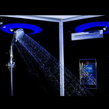 TroniTechnik Duschtempel Duschkabine Dusche Glasdusche Eckdusche Komplettdusche S090XF1EG01 90x90 – Bild 5