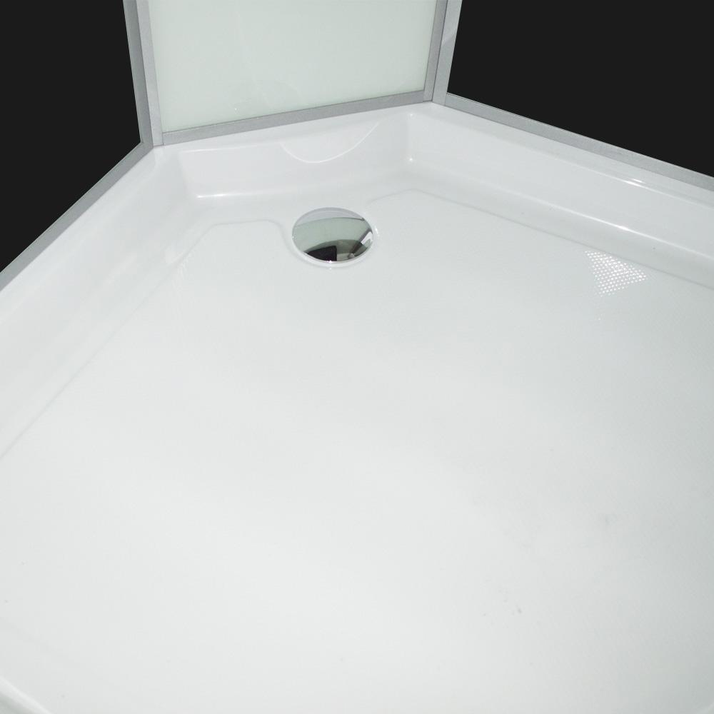 Bild 6: TroniTechnik Duschtempel Duschkabine Dusche Glasdusche Eckdusche Komplettdusche S090XF2EG01 90x90