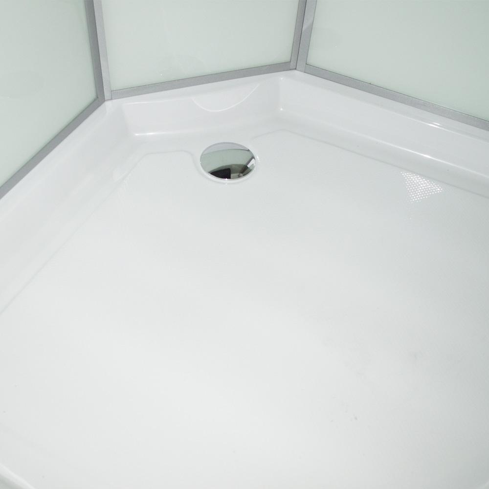 Bild 6: TroniTechnik Duschtempel Duschkabine Dusche Glasdusche Eckdusche Komplettdusche S090XC2EG02 90x90