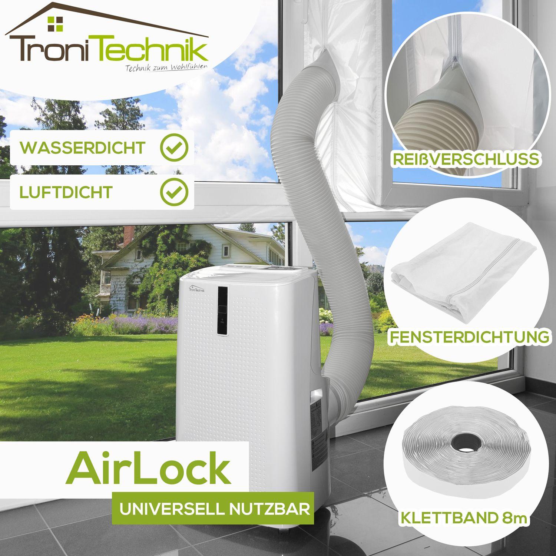 AirLock Fensterabdichtung Klimagerät 4m
