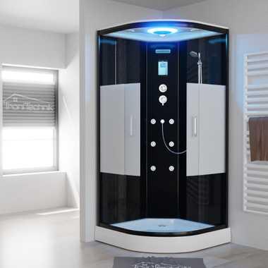 TroniTechnik Duschtempel Duschkabine Dusche Glasdusche Eckdusche Komplettdusche B100XH1HG01 100x100 – Bild 1
