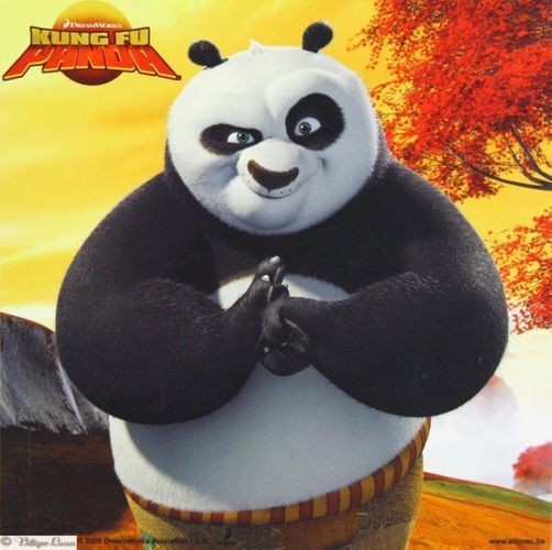 Wandbild Kung Fu Panda Bild in 4 verschiedenen Designs online kaufen