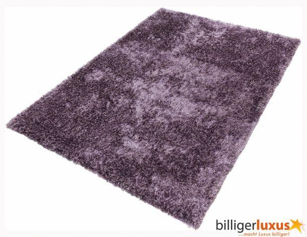 Teppich Shaggy Hochflorteppich NOVA 160x230 cm Lavendel online kaufen