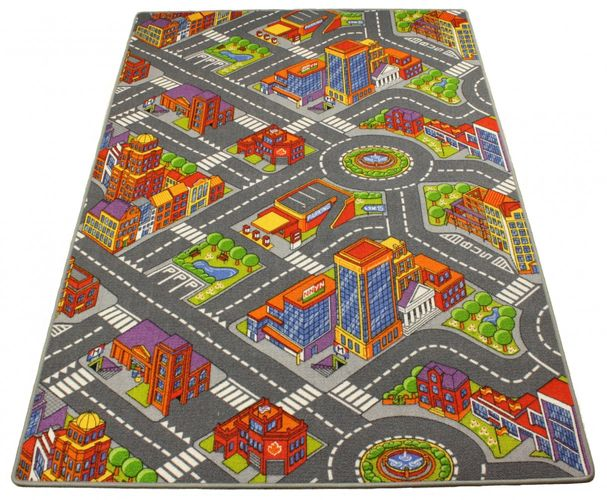 Premium play Carpet / rug street kids Carpet / rug street Carpet / rug in 2 different sizes online kaufen