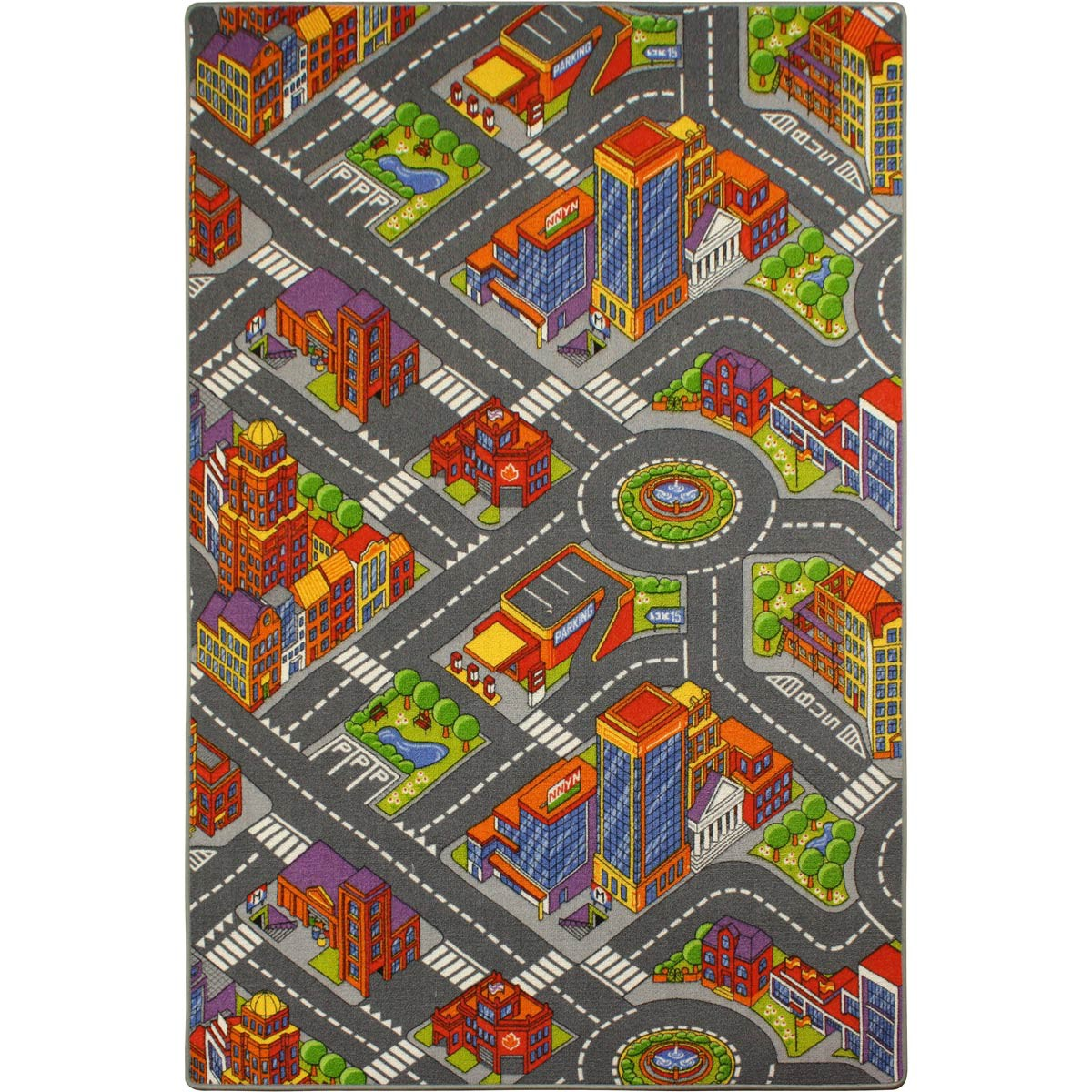 Premium Play Carpet Rug Street Kids