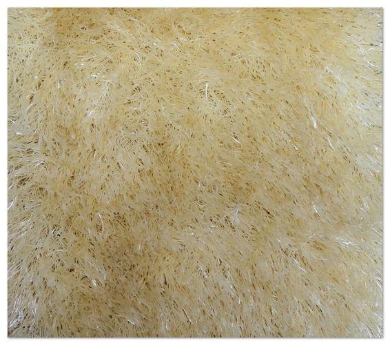 Teppich Touch Luxus Shaggy Hochflor 140x200cm creme online kaufen