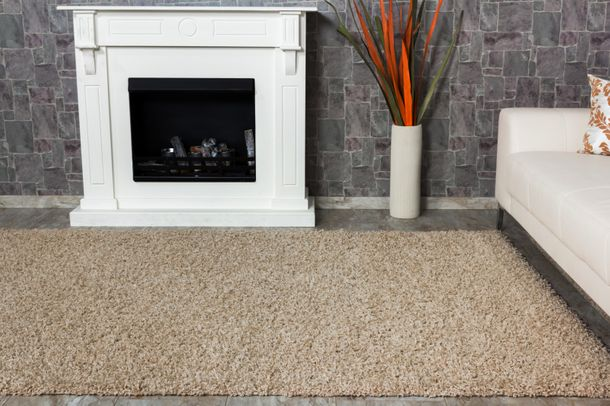 Carpet / rug Shaggy Java about 150 cm x 80 cm / 59.1 '' x 31.5 '' dark beige