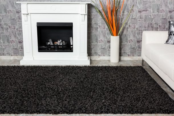 Carpet Shaggy Java 150 cm x 80 cm anthracite