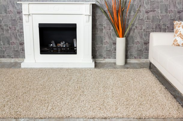 Carpet / rug Shaggy Java about 230 cm x 160 cm / 90.55 '' x 62.99 '' beige