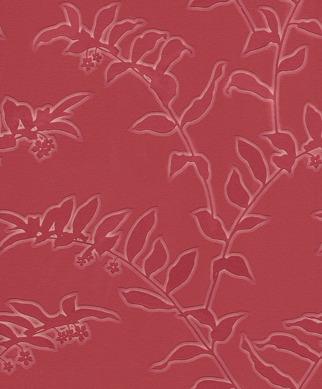 Personal affairs rasch 431063 tapete floral rot for Tapete floral