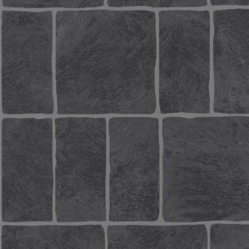 Stones & Style Steintapete 03985-60 Tapete Steine anthrazit