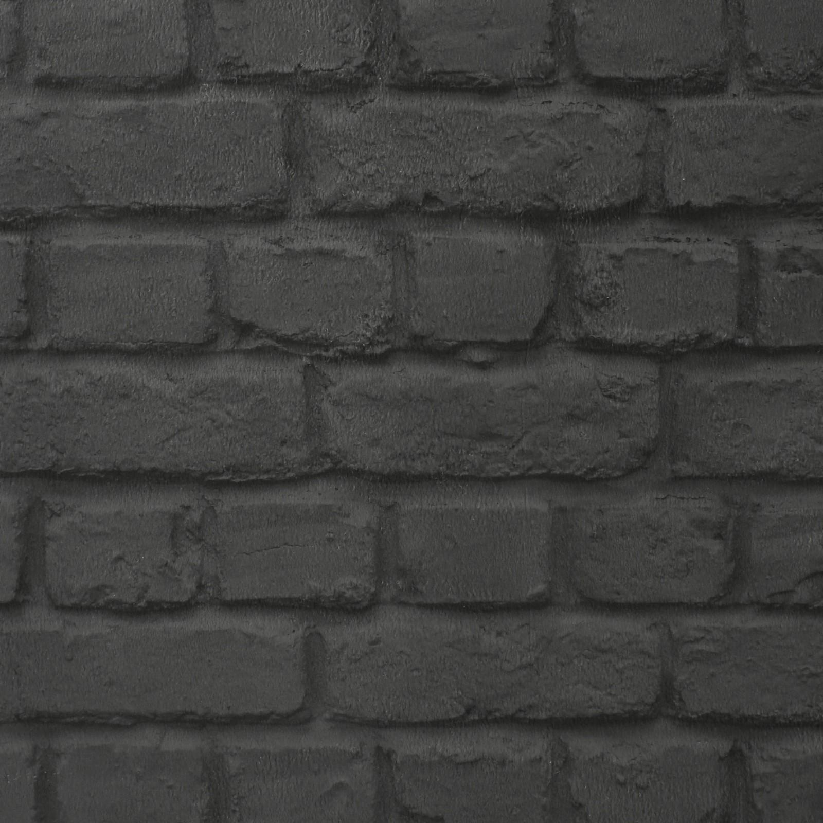 Papiertapete stein steinwand rasch schwarz 226744 - Steinwand anthrazit ...