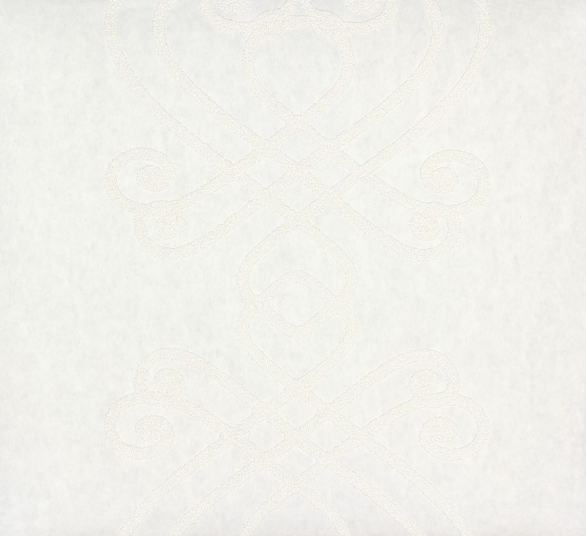 tapete vlies berstreichbar barock wei patent decor 3d 9429