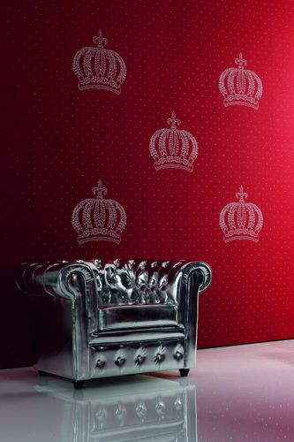 Harald Glööckler wallpaper panel anthracite crown jewel 52709  online kaufen