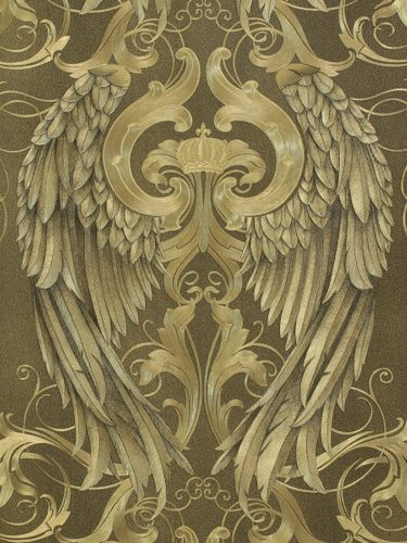 Wallpaper Glööckler angel wings gold Metallic 52540